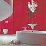 salle de bain rouge - avis feng shui